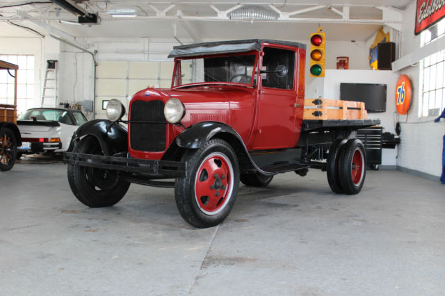 1930 Ford AA Stake  Truck