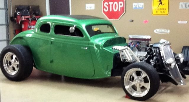 Hot rod steel 1934 ford 5 window coupe street rod for 1934 ford 5 window coupe street rod