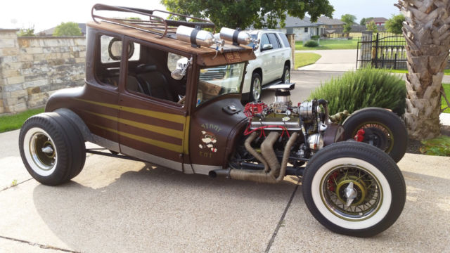 1927 Ford Model T Coupe, Hot Rod, Rat Rod
