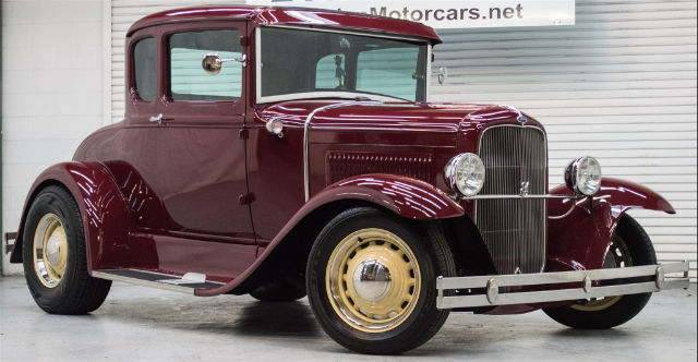 1929 Ford Model A 5 Window Cpe