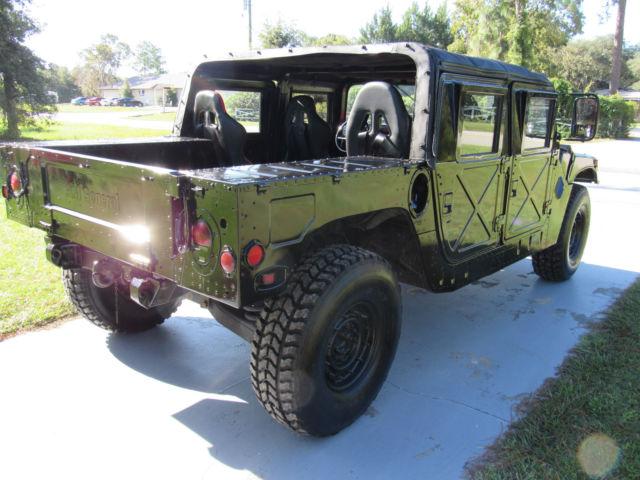Humvee H Hummer Hmmwv Elite S Alpha Class With X Doors Diesel on Military Hmmwv Batteries