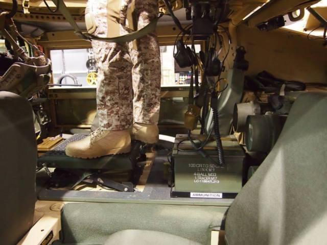 Humvee Hummer H1 SLANTBACK M1045 6.5 Turbo 4 speeds ARMOR