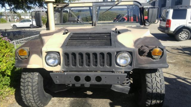 humvee m998 hmmwv california street legal for sale photos technical specifications description. Black Bedroom Furniture Sets. Home Design Ideas