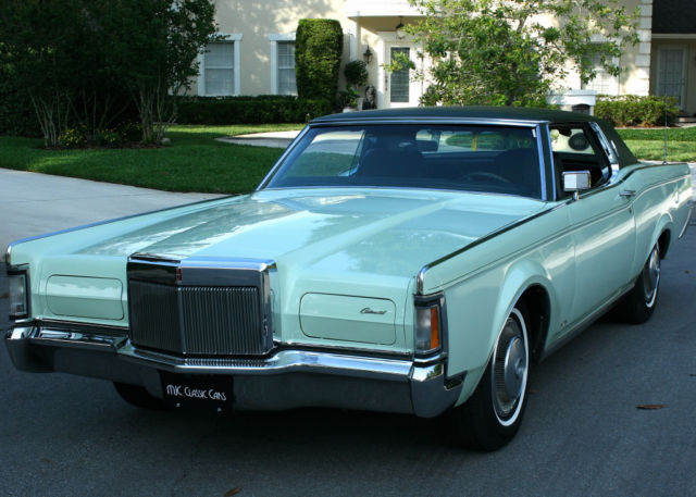 1971 Lincoln Mark Series III COUPE - RARE COLOR - 71K MI