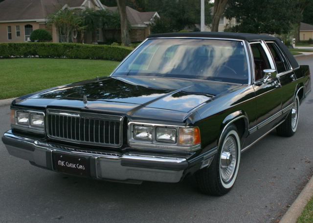 IMMACULATE ONE OWNER SURVIVOR 1991 Mercury Grand Marquis LS  62K