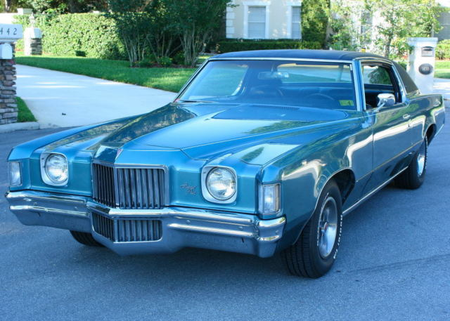 1971 Pontiac Grand Prix TWO OWNER
