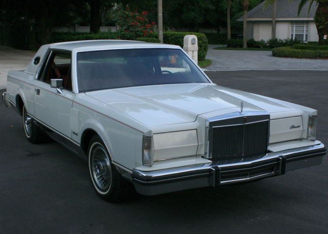 1981 Lincoln Mark Series MARK VI - TWO OWNER - 61K MILES