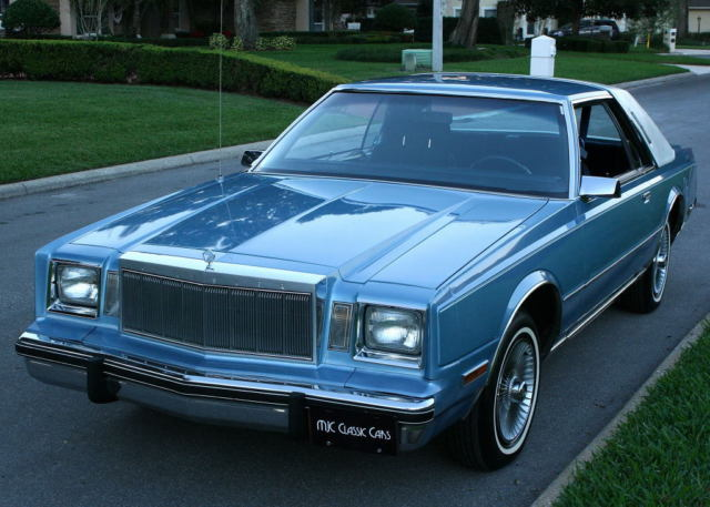 1983 Chrysler Cordoba COUPE - TWO OWNER SURVIVOR - 19K MI