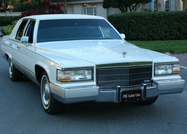 1991 Cadillac Brougham TWO OWNER - MINT - 5.0L V-8 - 59K MILES