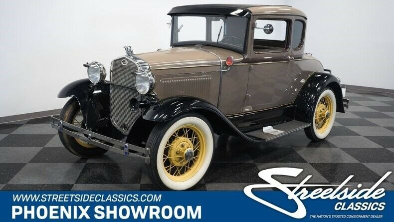 1931 Ford Model A Rumble Seat Coupe