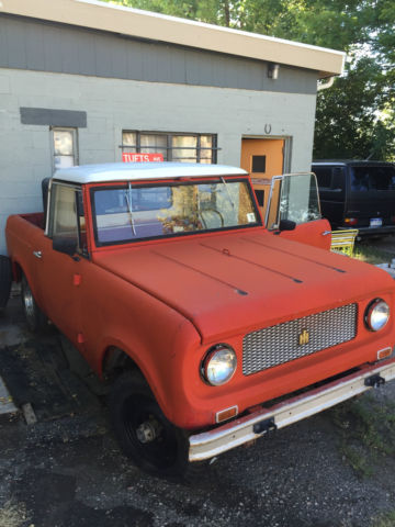 1963 International Harvester Scout Scout 80 - Half Cab