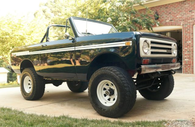 1972 International Harvester Scout Blue