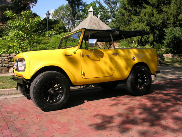 1967 International Harvester Scout Right Hand Drive