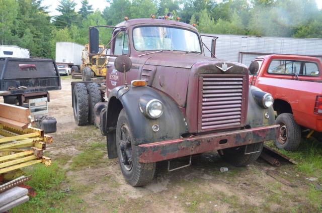 Antique Gmc Tractors : International harvester v antique tractor semi for sale