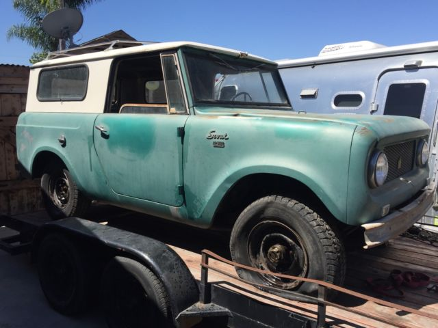 International Scout Classic Suv Old School Off Road All