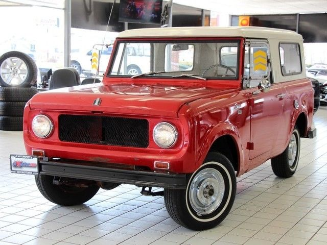 1966 International Harvester Scout 800 4-Spd Sony Radio Fresh Tires