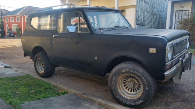 1974 International Harvester Scout 2 Door