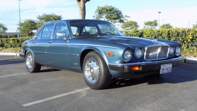 1986 Jaguar XJ6 ...