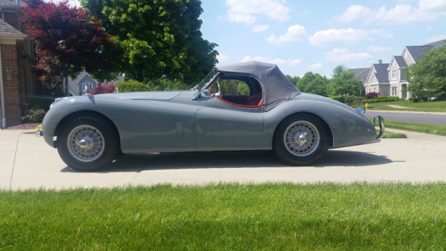 Jaguar Xk120 M Roadster 1953 For Sale Photos Technical