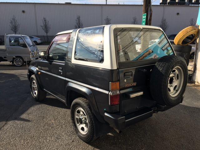 Japanese Import Rhd Daihatsu Rocky Toyota Suv Convertible