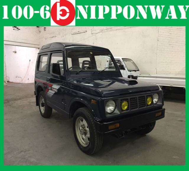 1990 Suzuki Samurai Jimny HighRoof 4WD Limited Time Buy it Now Auction