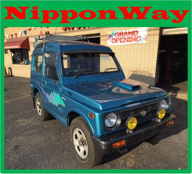 1991 Suzuki Jimny/Samurai 5 Speed Mini SUV Japanese Import Road Legal