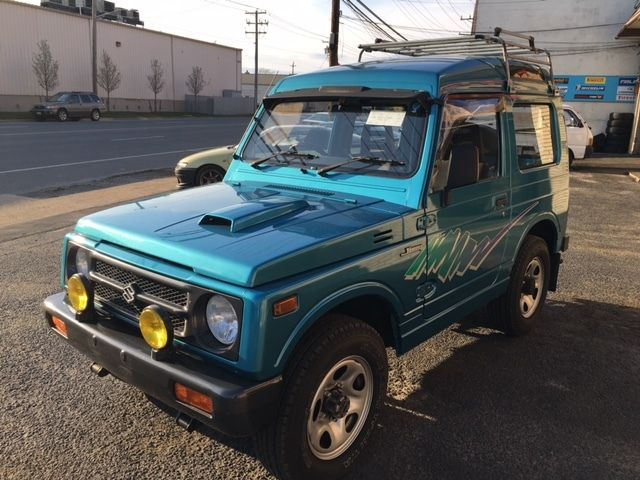 japanese mini truck 1991 suzuki jimny samurai 4x4 intercoolerturbo at no reserve for sale. Black Bedroom Furniture Sets. Home Design Ideas