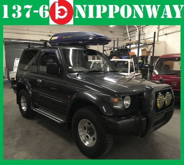 1992 Mitsubishi Pajero 4WD Diesel SUV RoadLegal 4D56 JDM Right Hand Drive