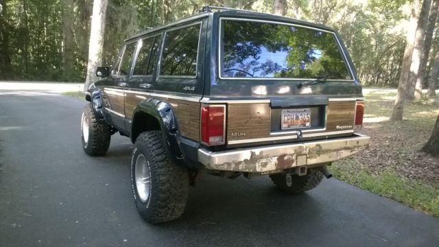 jeep 1989 wagoneer limited cherokee xj 4x4 4wd for sale photos technical specifications. Black Bedroom Furniture Sets. Home Design Ideas