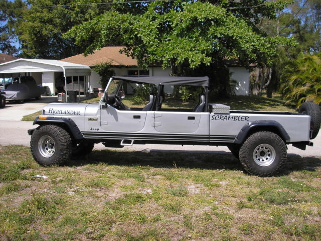 1984 Jeep CJ 4 DR--CONVERTIBLE--TRUCK