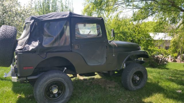 1975 Jeep Wrangler small box