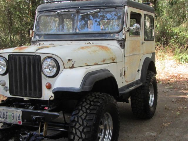 jeep CJ R V  overdrive 4x4 v-6 Headers New Tires new Lift for sale