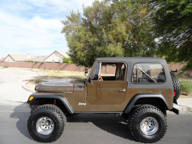 1977 Jeep CJ GOLDEN EAGLE LIMITED EDITION COLD AIR