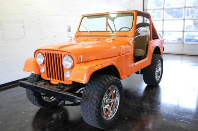 Jeep Cj Orange