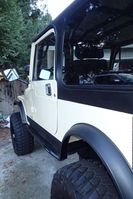 Jeep CJ7 resto-mod much like a CJ5 and best daily drivers in