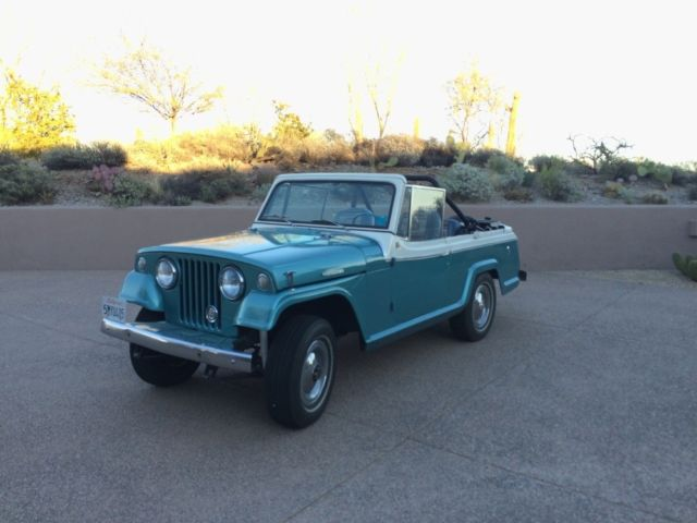 1967 Jeep Jeepster -COMMANDO CONVERTIBLE -CLASSICS JEEP FUN -