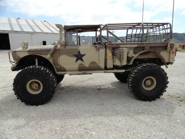Jeep Kaiser M715 Rock Crawler 4x4 Camo Rear Steer V8 Army