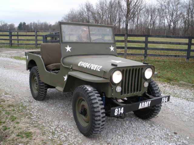 1947 Jeep Other cj2a