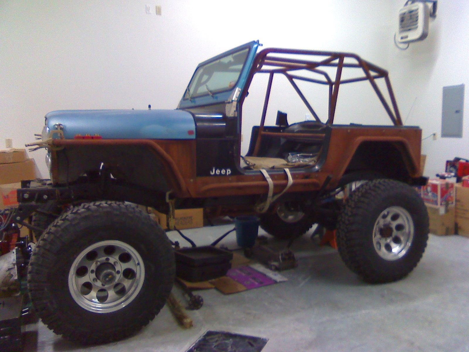 jeep project for sale photos technical specifications description. Black Bedroom Furniture Sets. Home Design Ideas