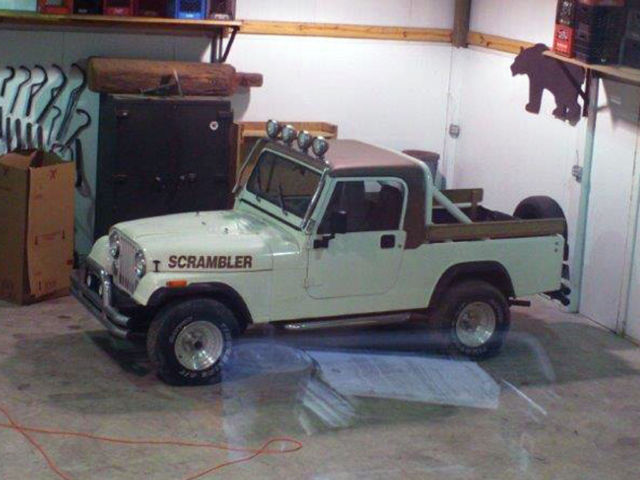 Jeep Scrambler Cj8 Fully Restored Garage Kept Jeep