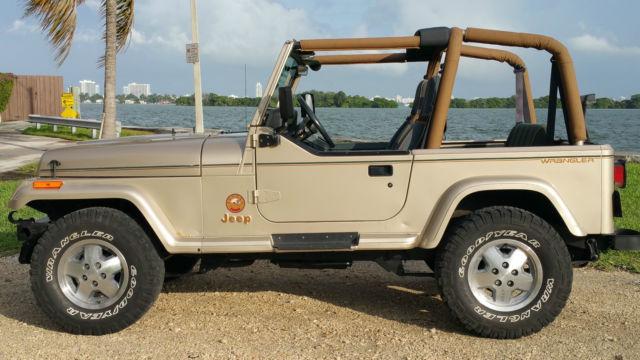 Jeep Wrangler Yj Sahara Edition For Sale Photos