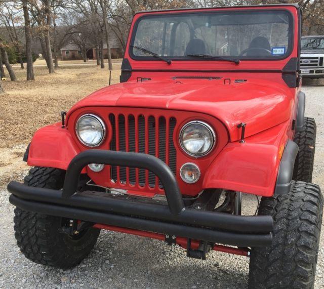 Jeep YJ CJ7 V8 Custom For Sale: Photos, Technical