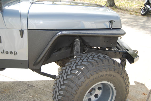 jeep yj wrangler 4x4 inline 6 cylinder grey black accessories rust free for sale photos. Black Bedroom Furniture Sets. Home Design Ideas