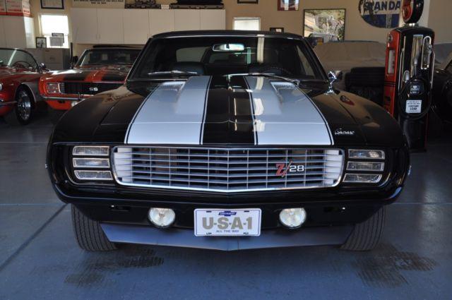 1969 Camaro Rs Z28 Dz302 Crossram Triple Black 1969 Z28