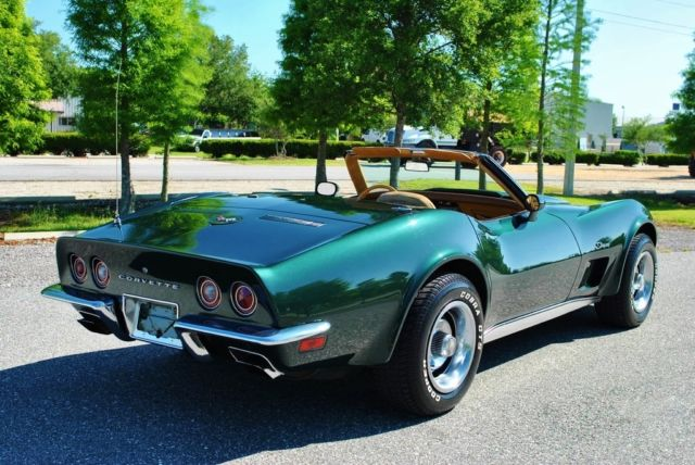 1973 Chevrolet Corvette Convertible 350 V8 4-Speed 17K Actual Miles! Wow!