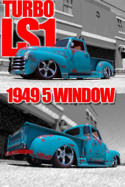 1949 Chevrolet C-10 BEAUTIFUL 2 STAGE PATINA PAINT