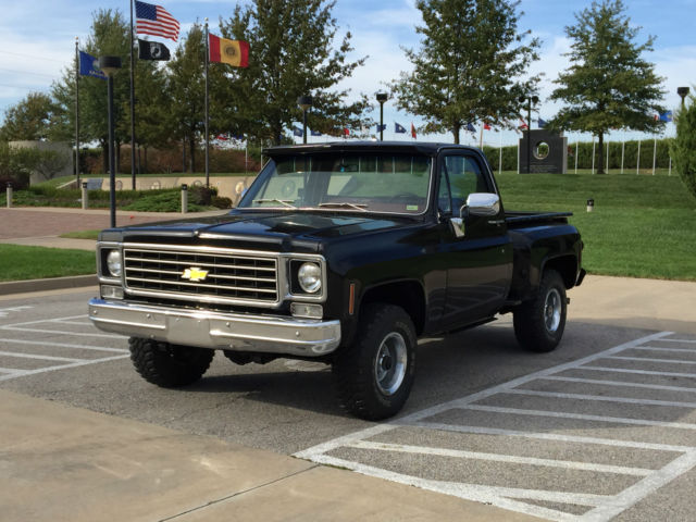 1976 Chevrolet C-10 K-10 4x4. Scottsdale trim package