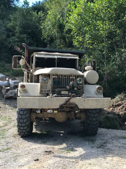 Kaiser Jeep truck army military dump Cummins 6x6 for sale