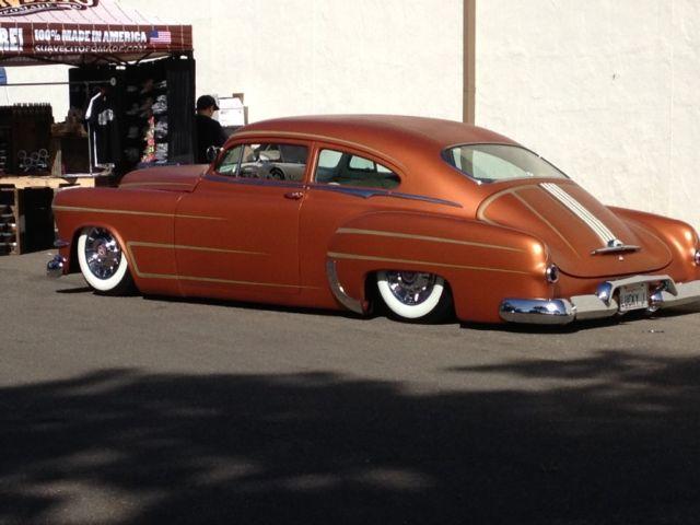 Kustom 1950 pontiac fastback chopped for sale photos for 1950 pontiac 2 door