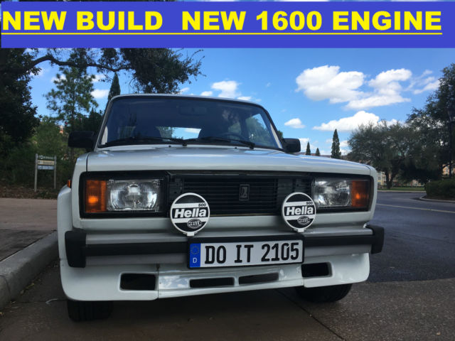 1984 Other Makes LADA 2105 / NEW BUILD/ BRAND NEW 1600 ENGINE VFTS